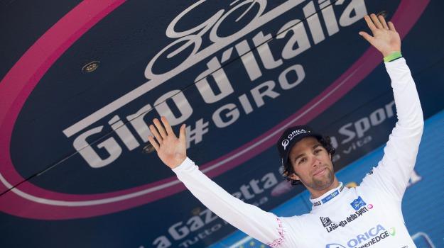 ciclismo, giro d'italia, maglia rosa, tappa, Elia Viviani, Michael Matthews, Sicilia, Sport