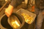 Non solo per le decorazioni, in cucina l'oro diventa un ingrediente