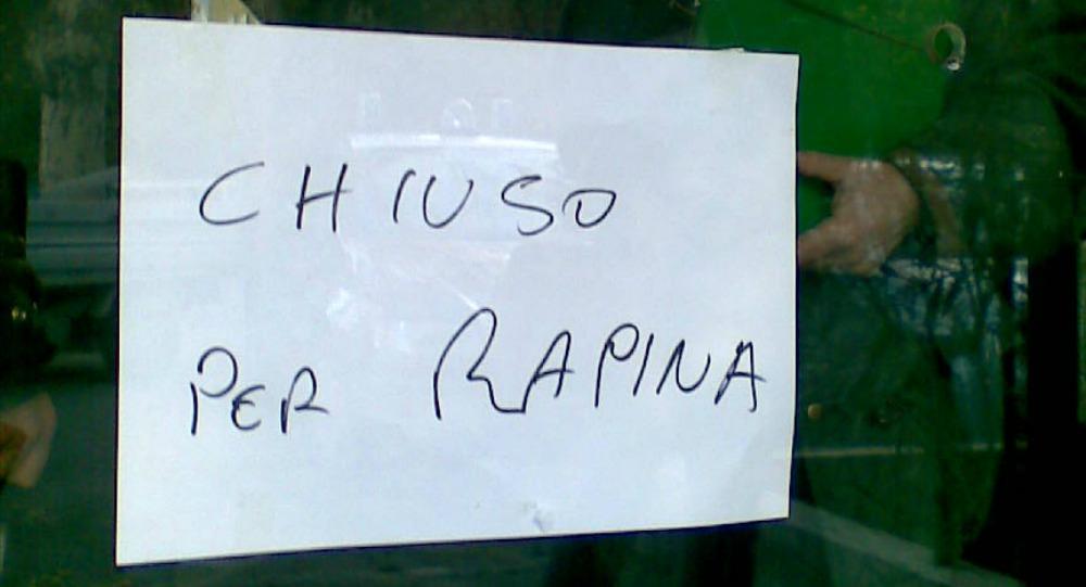 Rapina armato l'Unipol di Palermo, riconosciuto e arrestato