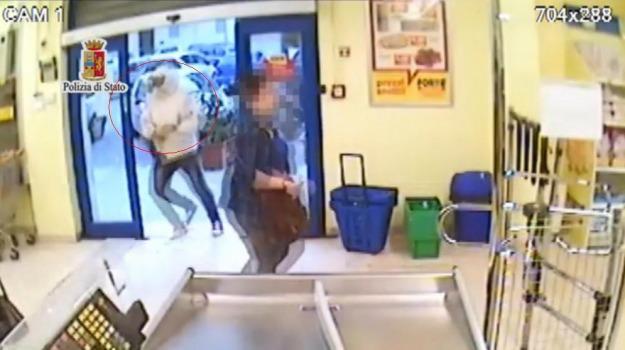 rapina supermercato palermo, tentata rapina, Palermo, Cronaca
