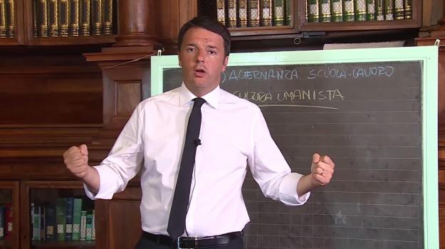 buona scuola, disegno di legge, scuola, Matteo Renzi, Sicilia, La politica di Renzi