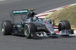 Rosberg, prova di forza in Spagna Doppietta Mercedes e Vettel terzo