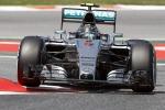 Si rivede Rosberg, pole in Spagna Vettel è terzo dietro a Hamilton