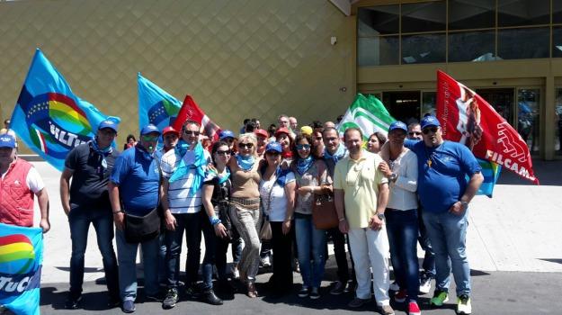 auchan, esuberi, sciopero, Sicilia, Economia