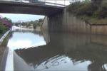 Piogge e allagamenti a Palermo: chiuso un sottopasso di viale Regione Siciliana- Video