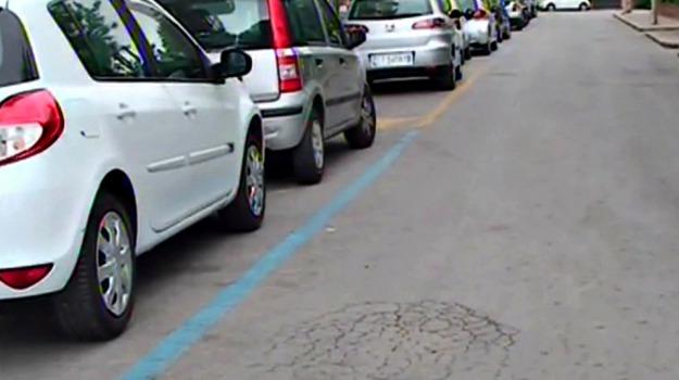 strisce blu, TRAFFICO, Palermo, Cronaca