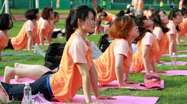 disciplina sportiva, yoga, Sicilia, Società