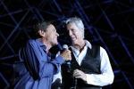 Gianni Morandi e Claudio Baglioni, 10 serate insieme sul palco al Foro Italico di Roma - Video