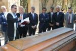 La salma di Falcone traslata alla chiesa di San Domenico