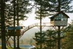 Lascia un lavoro sicuro e cambia vita costruendo una nuova casa... su un albero - Video
