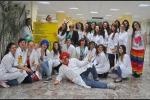 Studenti in corsia per i piccoli pazienti dell'ospedale di Taormina - Foto
