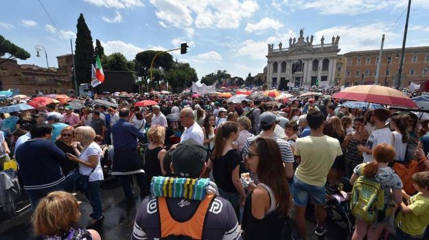 Familyday, unioni civili, Sicilia, Politica