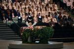 Giochi europei di Baku, la performance a sorpresa di Lady Gaga - Video
