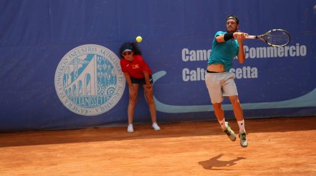 alterato, incontro, Tennis, Sicilia, Sport