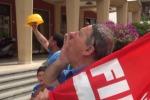 """""""In Sicilia opere pubbliche ferme"""": gli edili tornano in piazza - Video"""