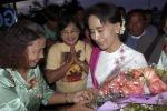 Birmania, la leader dell'opposizione San Suu Kyi compie 70 anni