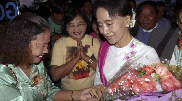 Birmania, leader, opposizione, Sicilia, Mondo