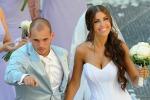 Bebè in arrivo per l'ex interista Wesley Sneijder e la bella Yolanthe - Video