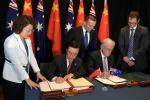 Libero commercio, storico accordo tra Australia e Cina