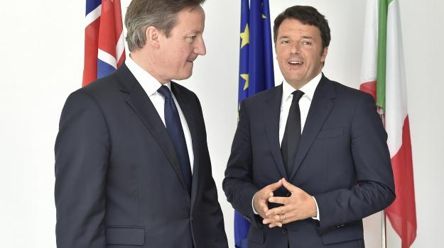 brexit, uscita Ue, Matteo Renzi, Sicilia, Politica