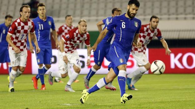 croazia-italia, nazionale, qualificazioni euro 2016, Antonio Conte, Sicilia, Sport