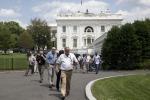 Allarme bomba alla Casa Bianca: evacuata la sala stampa