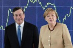 Emergenza Grecia: vertice a tre fra Draghi, Merkel e Hollande