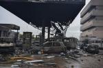Inferno di acqua e fuoco in Ghana, esplode stazione di servizio: 200 morti