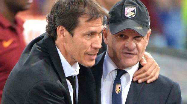 Calcio, palermo-roma, SERIE A, Alberto Gilardino, Beppe Iachini, Palermo, Calcio