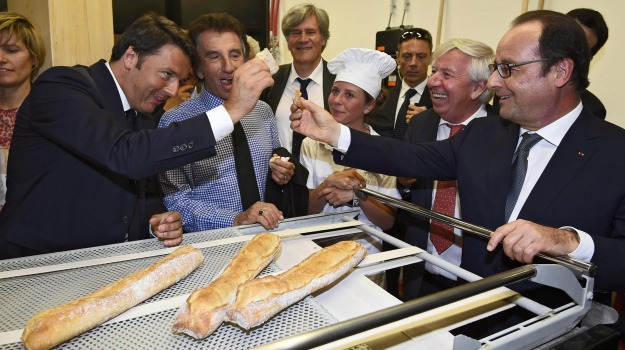 francois hollande, Matteo Renzi, Sicilia, Cronaca