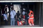Metropolitana di Roma, tamponamento alla fermata Eur Palasport: sono 21 i feriti