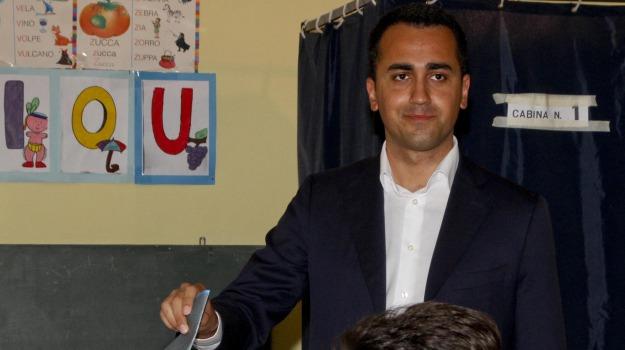 m5s, MOVIMENTO 5 STELLE, regionali, Luigi Di Maio, Sicilia, Politica