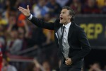 L'allenatore del Barcellona, Luis Enrique
