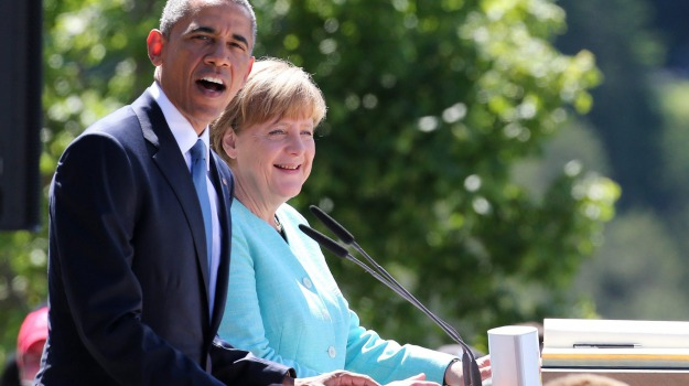G7, germania, incontro, presidente, USA, Angela Merkel, Barack Obama, Sicilia, Mondo