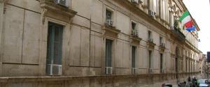 Il palazzo della Prefettura di Ragusa