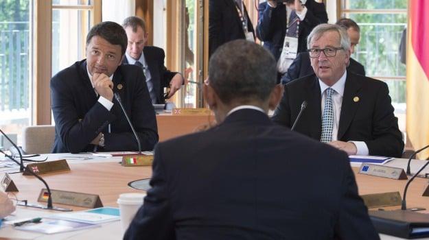 G7, immigrazione, unione europea, Sicilia, La politica di Renzi, Migranti e orrori
