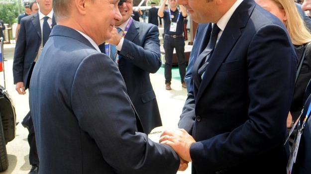economia, expo, Matteo Renzi, Vladimir Putin, Sicilia, Economia