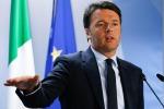 """Renzi a Torino: """"L'Italia non è più il malato d'Europa"""""""