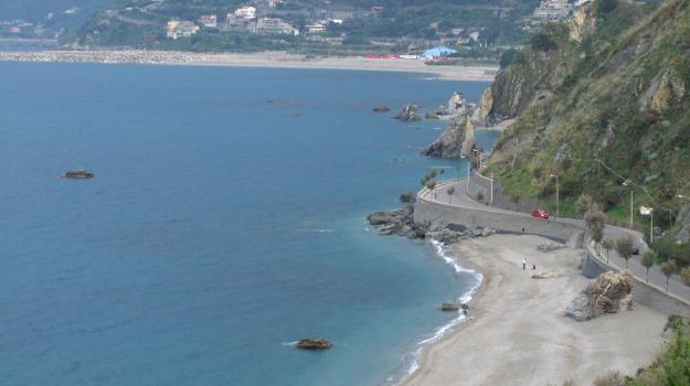 erosione, lungomare, pericolo, san gregorio, Messina, Cronaca