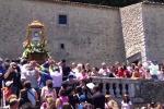 Santo Stefano Quisquina, processione in onore di Santa Rosalia