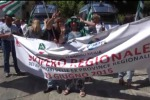 Migliaia di dipendenti ex Province in piazza a Palermo - Video