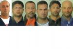 Mafia, sequestro di beni a otto boss di Pagliarelli: i volti