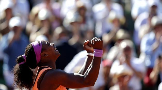 Roland Garros, Tennis, Novak Djokovic, Serena Williams, Sicilia, Sport