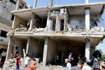 Guerra civile in Siria, bombardamenti del governo: 16 morti