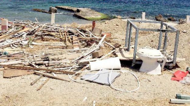 messina, rifiuti, spiaggia, Messina, Cronaca