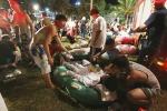 Fuoco nel parco divertimenti, inferno in Taiwan: 500 feriti e 180 gravissimi