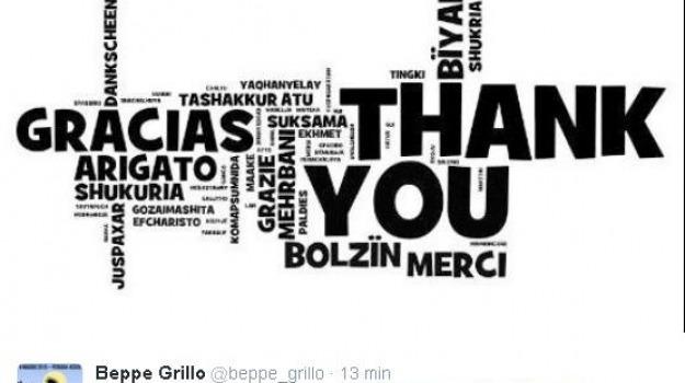 elezioni, m5s, regionali, twitter, Beppe Grillo, Sicilia, Politica