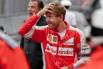 Il pilota della Ferrari Sebastian Vettel