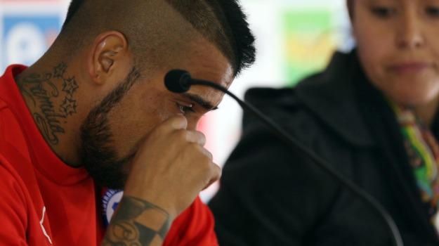 Calcio, Cile, Ferrari, incidente, Juventus, Arturo Vidal, Sicilia, Mondo