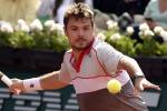Il tennista svizzero Stanislas Wawrinka